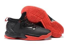 adidas basketball shoes 2014. adidas d lillard 2 black red basketball shoes 2014