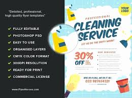 Housekeeping Flyers Templates Housekeeping Flyers Examples Luxury Cleaning Flyers Template Picks