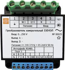 <b>Преобразователь</b> переменного <b>тока</b> и <b>напряжения</b> Е854ЭЛ