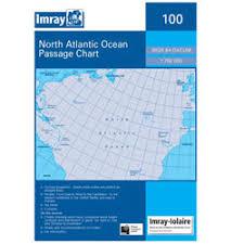 Imray Chart 100 North Atlantic Ocean Passage Chart