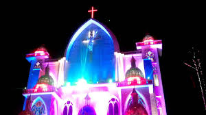 Best Church Lighting In Kerala Most Beautiful Church In