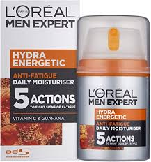 <b>L'Oréal Paris Men</b> Expert Hydra Energetic Anti-Fatigue Moisturiser ...