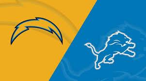 Detroit Lions Depth Chart 2018 Los Angeles Chargers At Detroit Lions Matchup Preview 9 15
