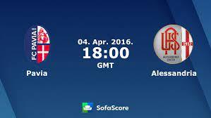 Pavia Alessandria live score, video stream and H2H results - SofaScore