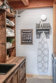 since this is the main view of the laundry room as you walk by and it is directly off the great room any old o iron board hanger wouldn t do