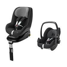 maxi cosi pebblepearl and familyfix base mega deal car seats