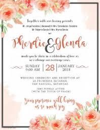 Wedding Invitation Template Wedding Invitation Templates Granizmondal Com