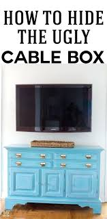 wall mount tv cable box how to hide a cable box and the wires coming from wall mount tv cable box