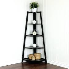 corner standing shelf corner shelves for living room tier espresso shelving unit top furniture modern wall