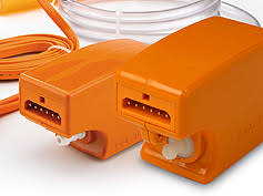 aspen® mini & maxi orange installation flexibility rectorseal Aspen Pumps Mini Orange Wiring Diagram concealed installation options remotely above ceiling or inside lineset cover reservoir options pan mount or inline style modular terminals Water Pump Wiring Diagram