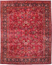 cyrus artisan persian mashad rug