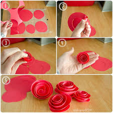 diy paper rosette wreath includes free cut file for silhouette users but can also