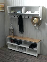 Coat Rack With Storage Shelves Delectable Shoe And Coat Rack Bench Please Read Details For A Discount Code