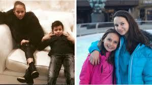 Jlo y marc anthony se casaron en junio del 2004, y procrearon gemelos, max y emme. Los Hijos De Jennifer Lopez Y Alex Rodriguez Al Fin Se Conocen