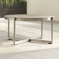 dune stainless steel and glass table