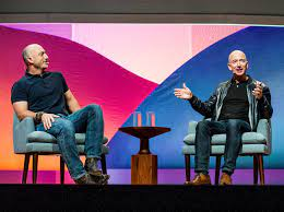 Meet Amazon CEO Jeff Bezos' Younger Brother