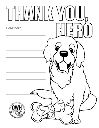 Coloring Pages Operation Write Home Would