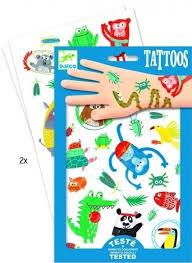 Dětské Sada Tetování Djeco V Džungli Skibi Kids