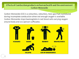 effects of combustion s on human health and the environment carbon monoxide carbon monoxide co