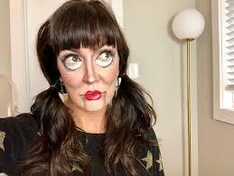 creepy doll halloween makeup tutorial creepy doll makeup for halloween makeup ideas