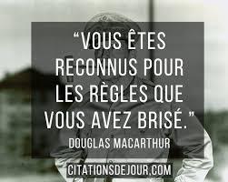 Citation De Douglas Macarthur Sur La Réussite