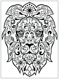 Good Printable Mandala Coloring Pages Adults Free Flower Abstract ...