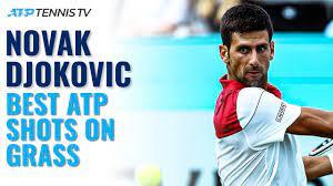 Novak Djokovic: Best-Ever ATP Shots On Grass! - YouTube