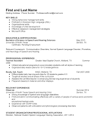 Resume Samples | Division Of Student Affairs