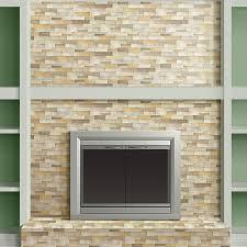 Stone Wall Tiles Kitchen Desert Quartz Ledgestone Natural Stone Wall Tile 6x14 398