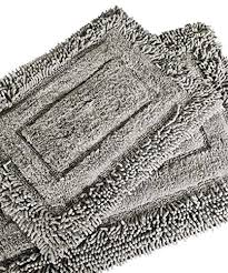grey bath rug trade linker 2 piece savoy gy bath rug light gray bath rugs