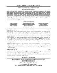 Nursing Professional Resume