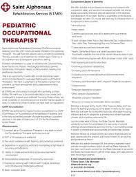 Occupational Therapist Job Description Pediatric Occupational Therapist Job In Meridian Idaho Healthcare 12