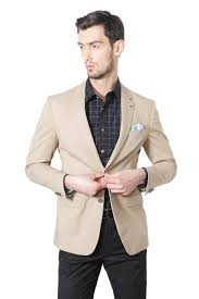 Allen Solly Suits Blazers Allen Solly Khaki Blazer For Men At Allensolly Com