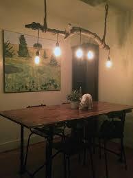driftwood lighting. driftwood lighting project e