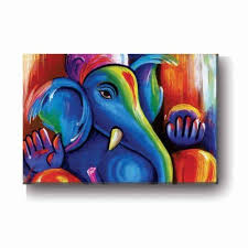 artsy lord ganesh canvas painting wall decor art frame 9x12 inches religious god lord ganesh wall frame idol for home office on ganesh canvas wall art with artsy lord ganesh canvas painting wall decor art frame 9x12 inches