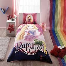 Disney Rapunzel Bedding Duvet Cover Set New Licensed 100% Cotton / Disney Rapunzel  Twin Size