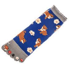 Japanese Toe Socks - <b>Shiba Dog Pattern</b>, 32 - Japan Centre ...