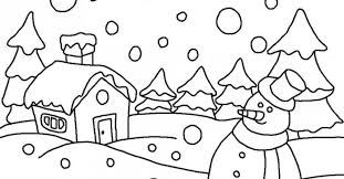 Small Picture Winter Wonderland Coloring Pages Gekimoe 59423