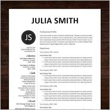 Free Creative Resume Templates For Mac Free Creative Resume