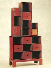 art deco furniture. art deco stepped corner bookcase furniture