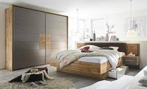 Uno Schlafzimmer 4 Teilig Mit Bettkasten Campus Wildeiche