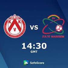 KV Kortrijk SV Zulte Waregem live score, video stream and H2H results -  SofaScore