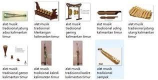Nama dayak memiliki arti yang erat kaitannya dengan sungai atau maritim. 8 Alat Musik Tradisional Kalimantan Timur Lengkap