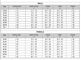 Fitness Level Chart By Age Mfp Tools Body Fat Percentage Chart