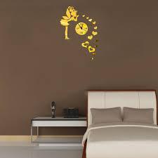mirror wall clock design ideas