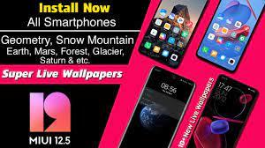 MIUI 12 | 12.5 Super Live Wallpaper ...