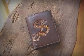 leather wallet from virgo handmade leather hanoi vietnam leather