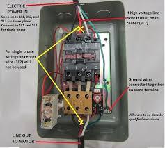 motor starter types motor contactor types plc motor control 3 Phase AC Motor Wiring magnetic motor starter wiring diagram