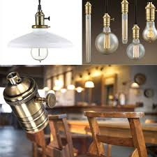 newhouse lighting e26 standard base solid brass light socket vintage edison pendant