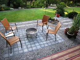 diy patio ideas pinterest. Image Of: Gravel Patio Ideas And Stone Diy Pinterest